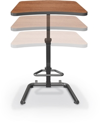 MooreCo Up-Rite Height Adjustable Sit to Stand Desk 90532
