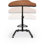 MooreCo Up-Rite Harmony Sit To Stand Modular Desk 90532-G