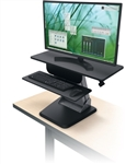 MooreCo Desktop Sit To Stand Workstation 91106