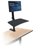 MooreCo Up-Rite Rear Mount Single Screen Sit-Stand Attachment 91113