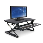 OFM Sit To Stand Ergonomic Desktop Riser with Keyboard Tray 5100