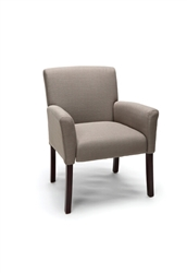 Essentials Tan Fabric Reception Chair by OFM