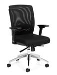 High Back Black Mesh Executive Chair 10904B by Offices To Go