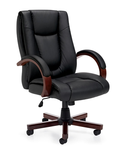 Furniture Deals Com: Luxhide Executive Conference Chair 11300B By Offices To Go