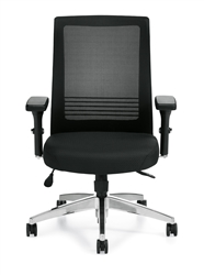 Offices To Go Ergonomic Executive Chair with Lumbar Support