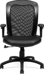 Adjustable Mesh Back Ergonomic Chair 11692B by Offices To Go