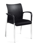 Modern Occasional Chair with Arms 11740B by Offices To Go