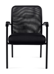 Black Mesh Back Guest Chair 11760B by Offices To Go
