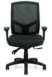 Offices To Go Mesh Back Desk Chair with Multi Functional Arms 11769B