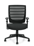 Offices To Go Mid Back Mesh Computer Chair 11921B