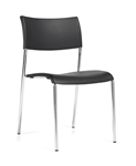 Modern Armless Stackable Guest Chair 1221 by Offices To Go
