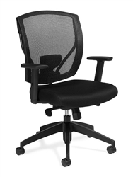 2801 Mesh Office Chair with Synchro-Tilter Mechanism by Offices To Go