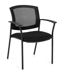 Black Mesh High Back Guest Chair 2809 by Offices To Go
