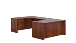 5 Piece Dark Cherry U Desk Layout SL-A-ADC by Offices To Go