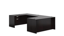 Espresso Executive Desk Layout SL-A-AEL by Offices To Go