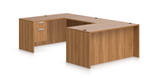 Offices To Go Superior Laminate U Desk in Walnut