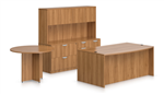 OTG Superior Laminate Furniture Layout SL-H In Autumn Walnut