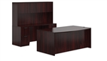 Offices To Go SL-I-AML Superior Laminate Set In Mahogany
