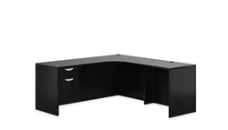 Espresso Corner Desk with Storage SL-M-AEL by Offices To Go