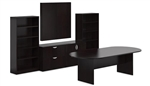 Espresso Conference Room Furniture Set SL-P-AEL by Offices To Go