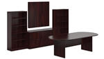 Offices To Go SL-P Superior Laminate Conference Room Set