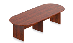 Offices To Go SL12048RS Dark Cherry Superior Laminate Conference Table