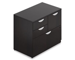 SL3622MSF-AEL Mixed Storage Cabinet in Espresso by Offices To Go