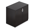 SL3622SC-AEL Espresso Storage Cabinet with Lock by Offices To Go