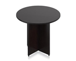 "Offices To Go 36"" Round Conference Table in Espresso"