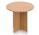 Offices To Go American Walnut Finished Superior Laminate Table SL36R