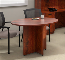 Offices To Go Dark Cherry Superior Laminate Office Table SL42R-ADC