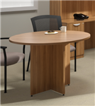 "Offices To Go Walnut Finished 42"" Meeting Table SL42R"