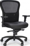 Essentials Mesh and Leather Office Chair 162Q by RFM Preferred Seating