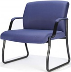 Big & Tall Sidekick Guest Chair 704A by RFM Preferred Seating