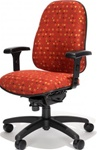 Multi-Shift Managers Chair 9826 by RFM Preferred Seating