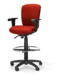 Height Adjustable Drafting Chair R1-33 by RFM Preferred Seating