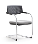 Woodstock Marketing Shankar Series Gray Stack Chairs
