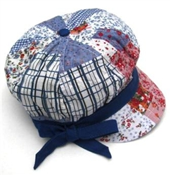Girl Sun Hat Blue