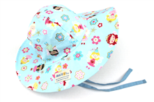 Baby Girl Sun Hat With Super Wide Brim