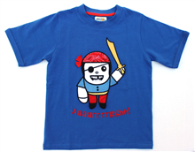 Pirate T-shirt UPF 50+ Built in Sun Protection