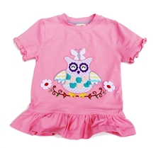 Best Sun Protection Owl Girl Top