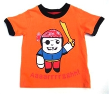 Baby Pirate T-shirt UPF 50+ Built in Sun Protection