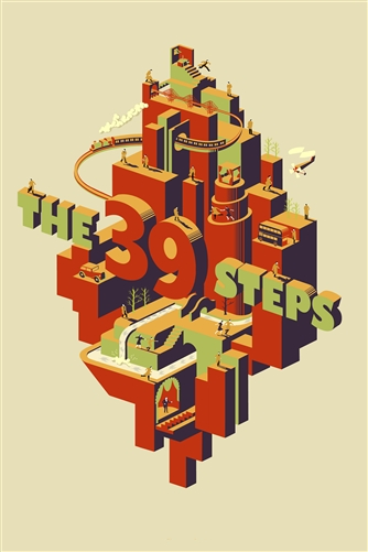 The 39 Steps Movie Poster