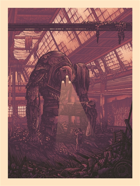 Atlas Art Print by Luke Martin