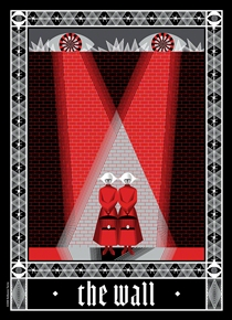 The Wall Art Print by The Balbusso Twins