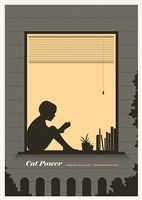 Cat Power Concert Poster by Simon Marchner