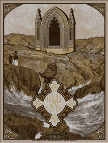 Midlake Concert Poster (brown) by Drew Binkley