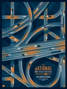 The National Concert Poster by DKNG