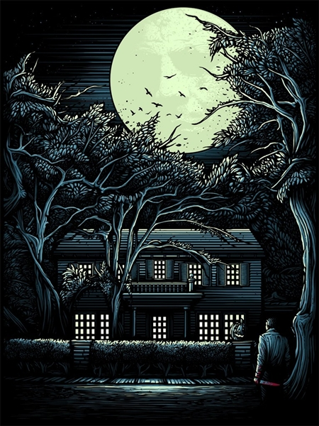 The Night He Came Home by Dan Mumford