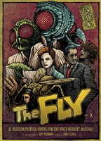 The Fly (50's) Movie Poster by Dan Mumford
